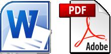 word e pdf