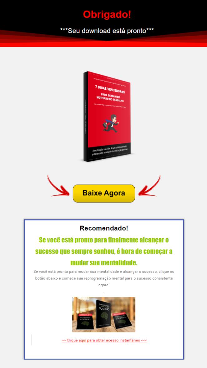 Pág. entrega isca digital